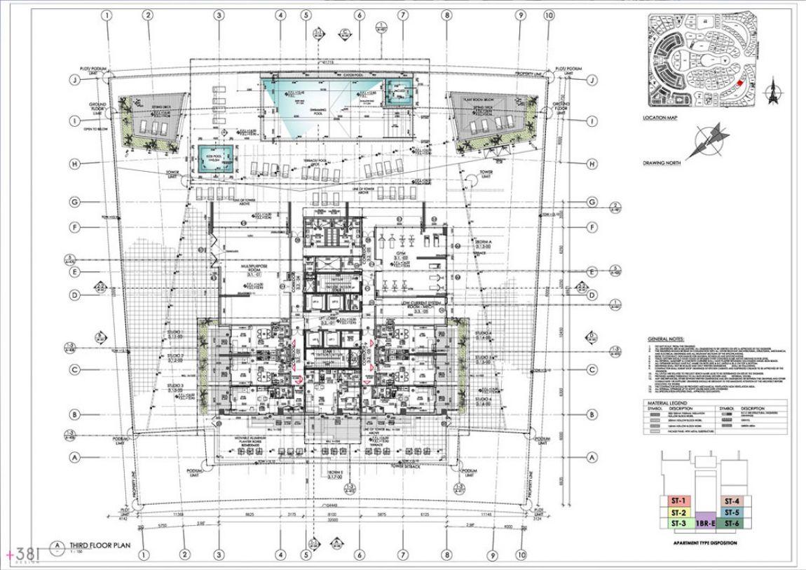 Residential_Tower_Dubai_United_Arab_Emirates_Plus_381_layout_design_architecture_04